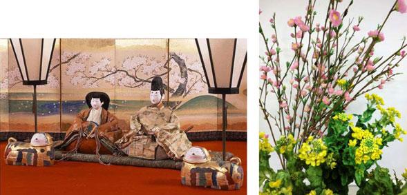 徳川美術館「尾帳徳川家のひな祭り」装飾